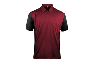 Coolplay Hybrid 3 Red and Black Shirt - Front View