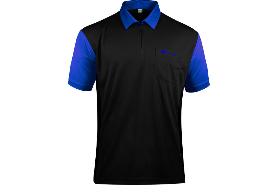 Coolplay Hybrid 2 Black and Blue Shirt - Front View