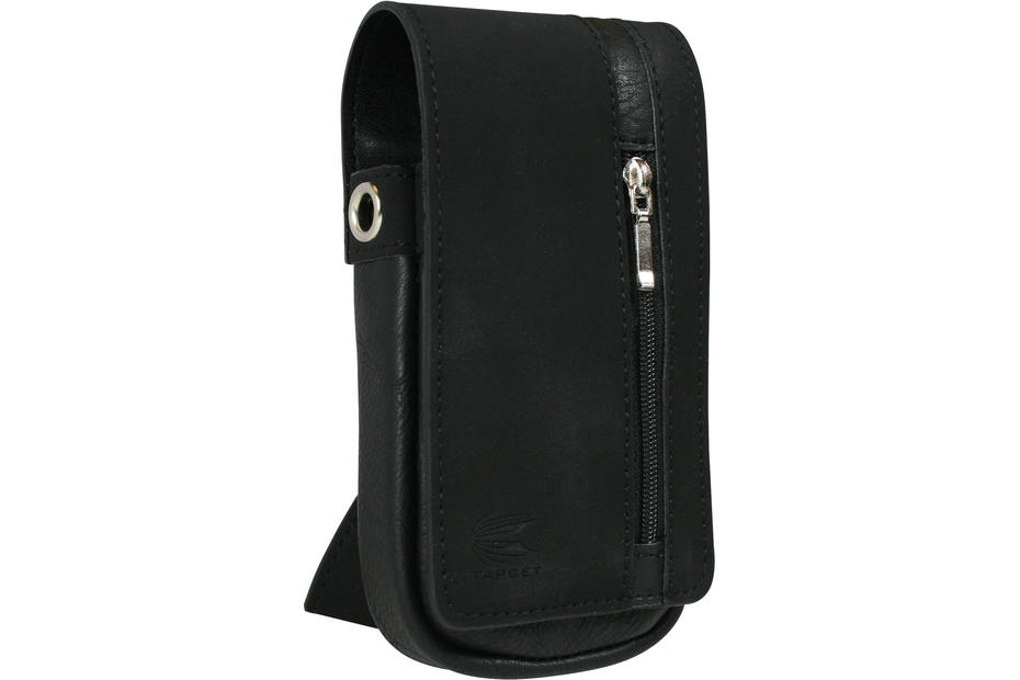 Daytona Wallet - Black with Black Strip