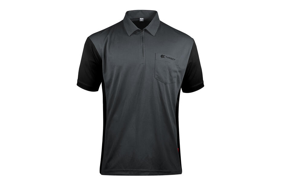 Coolplay Hybrid 3 Grey and Black Shirt - Front View
