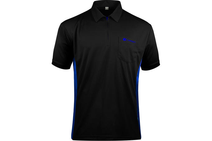 Coolplay Hybrid 3 Black and Blue Shirt - Front View