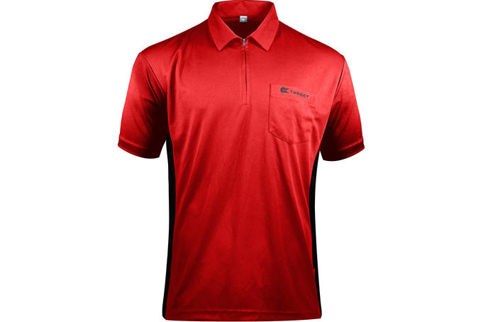 Coolplay Hybrid Red and Black Shirt - Front View