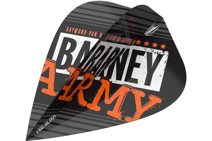 Raymond Van Barneveld Barney Army Black Kite