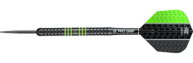 Vapor8 Black Green Steel Tip Dart
