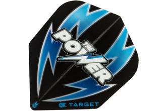 Phil Taylor Arc Bolt Black/Blue No.6 Flight
