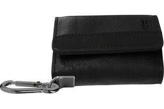 Montana Wallet - Black with Black Strip