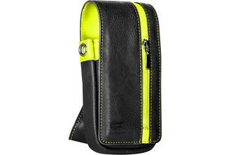 Daytona Wallet - Black with Yellow Strip