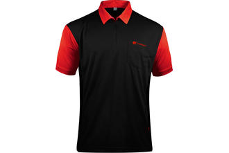 Coolplay Hybrid 2 Black and Red Shirt - Front View