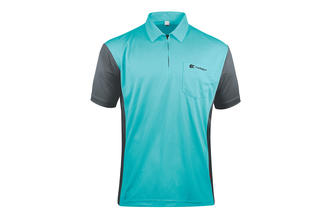 Coolplay Hybrid 3 Blue and Grey Shirt - Front View