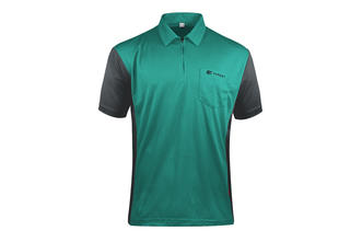 Coolplay Hybrid 3 Turquoise and Grey Shirt - Front View