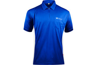 Coolplay Hybrid Blue and White Shirt - Front View