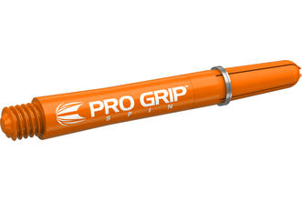 Pro Grip Spin Orange Shaft