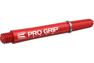 Pro Grip Spin Red Shaft
