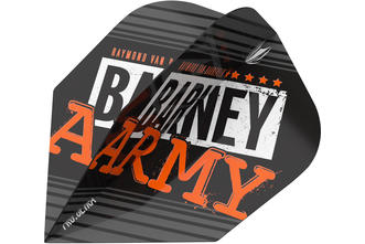 Raymond Van Barneveld Barney Army Black NO.6 Flight