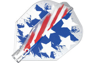8 Flight Clear No.6 Shape USA Flag